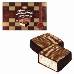 """Конфеты шоколадные РОТ ФРОНТ """"Птичье молоко"""", сливочно-ванильные, 200 г"""