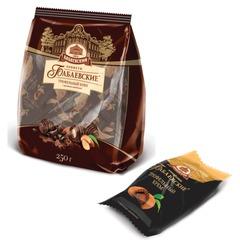 Конфеты шоколадные БАБАЕВСКИЙ, с трюфельным кремом, 200 г, пакет