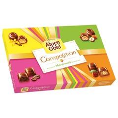 """Конфеты шоколадные ALPEN GOLD """"Composition"""", ассорти, 183 г"""