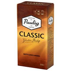 """Кофе молотый PAULIG (Паулиг) """"Classic"""", натуральный, 250 г, вакуумная упаковка"""