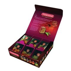 """Чай TEEKANNE (Тикане), набор 6 вкусов, ассорти """"Assorted Box"""", 24 пакетика, Германия"""