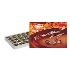 """Конфеты шоколадные РОТ ФРОНТ """"Подмосковные вечера"""", ассорти, 200 г, картонная коробка"""