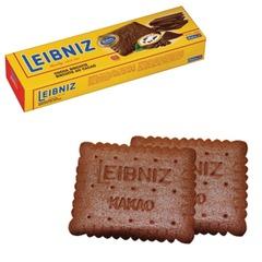 """Печенье BAHLSEN Leibniz (БАЛЬЗЕН Лейбниц) """"Kakaokeks"""", хрустящее с какао, 200 г, Германия"""