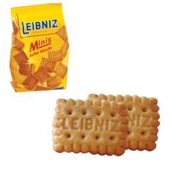 """Печенье BAHLSEN Leibniz (БАЛЬЗЕН Лейбниц) """"Minis butter"""", сливочное, 100 г, Германия"""