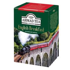 "Чай AHMAD (Ахмад) ""English Breakfast"", черный листовой, картонная коробка, 200 г"