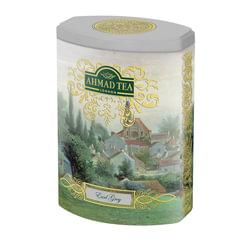 """Чай AHMAD (Ахмад) """"Earl Grey"""", черный с бергамотом, листовой, жестяная банка, 100 г"""