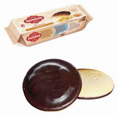"""Печенье ЯШКИНО """"Апельсин"""", сдобное, с бисквитом, джемом и шоколадной глазурью, 137 г"""