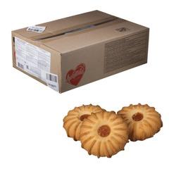 """Печенье ЛЮБЯТОВО """"Курабье"""", 3 кг, весовое, гофрокороб"""