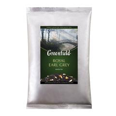 """Чай GREENFIELD (Гринфилд) """"Royal Earl Grey"""", черный с бергамотом, листовой, 250 г, пакет"""