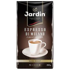 """Кофе молотый JARDIN (Жардин) """"Espresso di Milano"""", натуральный, 250 г, вакуумная упаковка"""