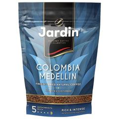 """Кофе растворимый JARDIN (Жардин) """"Colombia Medellin"""", сублимированный, 280 г, мягкая упаковка"""