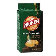 """Кофе молотый ЖОКЕЙ """"Классический"""", натуральный, 250 г, вакуумная упаковка"""