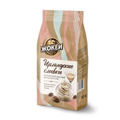 """Кофе молотый ЖОКЕЙ """"Ирландские сливки"""", натуральный, 150 г, вакуумная упаковка"""