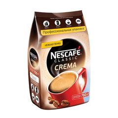 Кофе растворимый NESCAFE (Нескафе) Classic Crema, с нежной пенкой, 750 г, мягкая упаковка