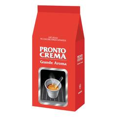 """Кофе в зернах LAVAZZA (Лавацца) """"Pronto Crema"""", натуральный, 1000 г, вакуумная упаковка"""