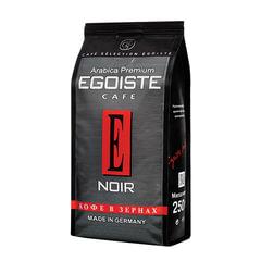 """Кофе в зернах EGOISTE """"Noir"""", натуральный, 250 г, 100% арабика, вакуумная упаковка"""