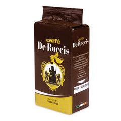 """Кофе молотый DE ROCCIS """"Oro Intenso"""" (Де Роччис """"Оро Интенсо""""), натуральный, 250 г, вакуумная упаковка"""