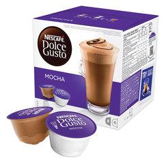 """Капсулы для кофемашин NESCAFE Dolce Gusto """"Mocha (Мокко)"""", натуральный кофе 8 шт. х 12 г, молочные капсулы 8 шт х 15 г"""