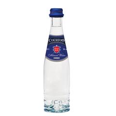 Вода негазированная питьевая COURTOIS (КУРТУА), 0,25 л, стеклянная бутылка