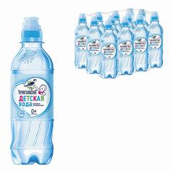 """Вода негазированная минеральная """"ЧЕРНОГОЛОВСКАЯ"""" детская, 0,33 л, пластиковая бутылка"""