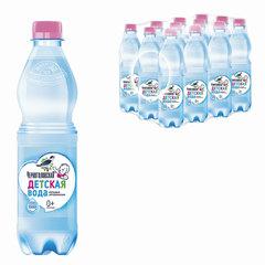 """Вода негазированная минеральная """"ЧЕРНОГОЛОВСКАЯ"""" детская, 0,5 л, пластиковая бутылка"""