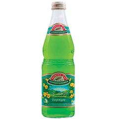 """Лимонад НАПИТКИ ИЗ ЧЕРНОГОЛОВКИ """"Тархун"""", газированный, 0,33 л, стеклянная бутылка"""