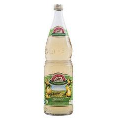 """Лимонад НАПИТКИ ИЗ ЧЕРНОГОЛОВКИ """"Дюшес"""", газированный, 1 л, стеклянная бутылка"""