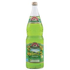 """Лимонад НАПИТКИ ИЗ ЧЕРНОГОЛОВКИ """"Тархун"""", газированный, 1 л, стеклянная бутылка"""