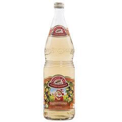 """Лимонад НАПИТКИ ИЗ ЧЕРНОГОЛОВКИ """"Буратино"""", газированный, 1 л, стеклянная бутылка"""
