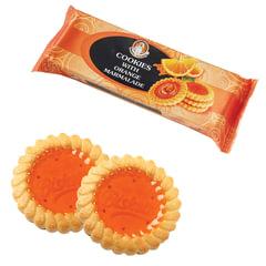 """Печенье БИСКОТТИ (Россия) """"Santa Bakery"""", с апельсиновым мармеладом, сдобное, 100 г"""