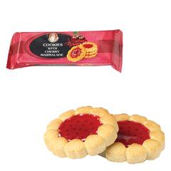 """Печенье БИСКОТТИ (Россия) """"Santa Bakery"""", с вишневым мармеладом, сдобное, 100 г"""