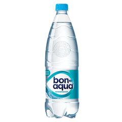 Вода негазированная питьевая BONAQUA (БонАква), 1 л, пластиковая бутылка