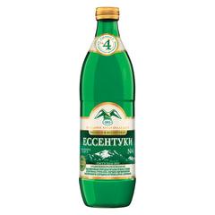"""Вода газированная минеральная ЕССЕНТУКИ """"№4"""", 0,54 л, стеклянная бутылка"""