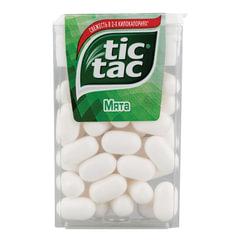 Драже TIC TAC (Тик Так), со вкусом мяты, 16 г, пластиковая баночка