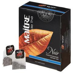 """Чай MAITRE (МЭТР) """"Цейлон"""", черный, 100 пакетиков в конвертах по 2 г"""