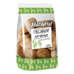 Печенье овсяное ХВАТАЙ-КА классическое, 400 г