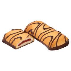 """Печенье БЕЛОГОРЬЕ """"Лакомый кусочек"""", сдобное в темной глазури, 4 кг, весовое, гофрокороб"""