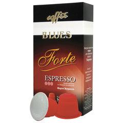 """Капсулы для кофемашин NESPRESSO, """"Forte"""", натуральный кофе, BLUES, 10 шт. х 5 г"""