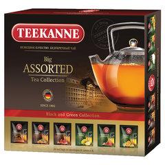 """Чай TEEKANNE (Тиканне) """"Big Assorted"""", 6 вкусов черного и зеленого чая, 24 пак., Германия"""
