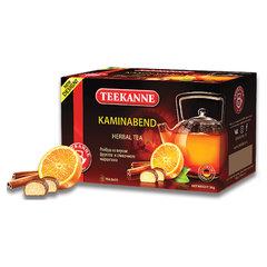 "Чай TEEKANNE (Тиканне) ""Kaminabend"", травяной, ройбуш, 20 пакетиков по 1,8 г, Германия"