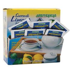 Лимонный сок NATURERA порционный, 25 пакетиков по 4 мл, шоу-бокс