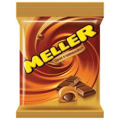 Конфеты-ирис MELLER (Меллер) с шоколадом, 100 г, пакет