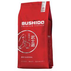 """Кофе в зернах BUSHIDO """"Red Katana"""", натуральный, 1000 г, 100% арабика, вакуумная упаковка"""