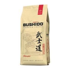 """Кофе в зернах BUSHIDO """"Sensei"""", натуральный, 227 г, 100% арабика, вакуумная упаковка"""