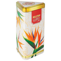 """Чай HILLTOP """"Подарок Цейлона"""", черный листовой, 80 г, жестяная упаковка """"ЦВЕТЫ ЦЕЙЛОНА"""""""