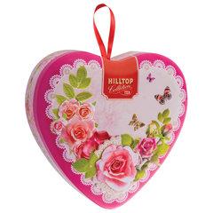 """Чай HILLTOP """"Подарок Цейлона"""", черный листовой, 50 г, сердечко-комплимент """"СЮРПРИЗ"""""""