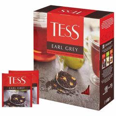 """Чай TESS (Тесс) """"Earl Grey"""", черный, с цедрой лимона, 100 пакетиков в конвертах по 1,8 г"""