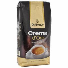 """Кофе в зернах DALLMAYR (Даллмайер) """"Crema d`Oro Selektion"""", арабика 100%, 1000 г, вакуумная упаковка, 35503"""