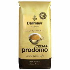 """Кофе в зернах DALLMAYR (Даллмайер) """"Prodomo Caffe Crema"""", арабика 100%, 1000 г, вакуумная упаковка"""