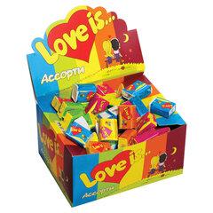 Жевательная резинка LOVE IS, ассорти вкусов, 4,2 г